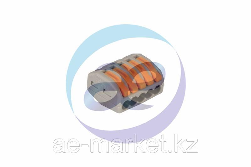 Универсальная многоразовая 5-проводная клемма REXANT (0, 08-2, 5 (4) мм²) 40шт.