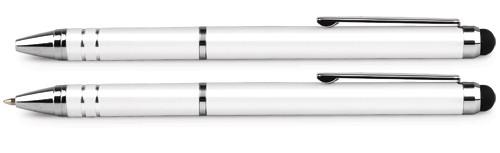 Ручка-стилус шар. автомат. Forpus Smartfone Pen, 0,7мм, метал. клип., стержень синий