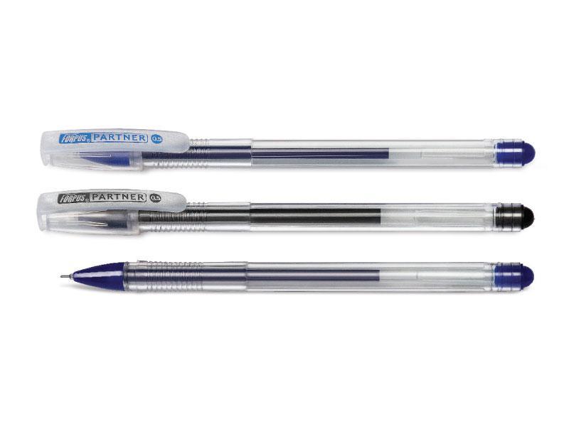 Ручка гелевая Partner, 0.5 мм, синий