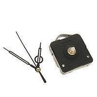 Набор: часовой механизм 3268 с подвесом, дискретный ход + комплект стрелок двойных черные 11х18см 50/75/65