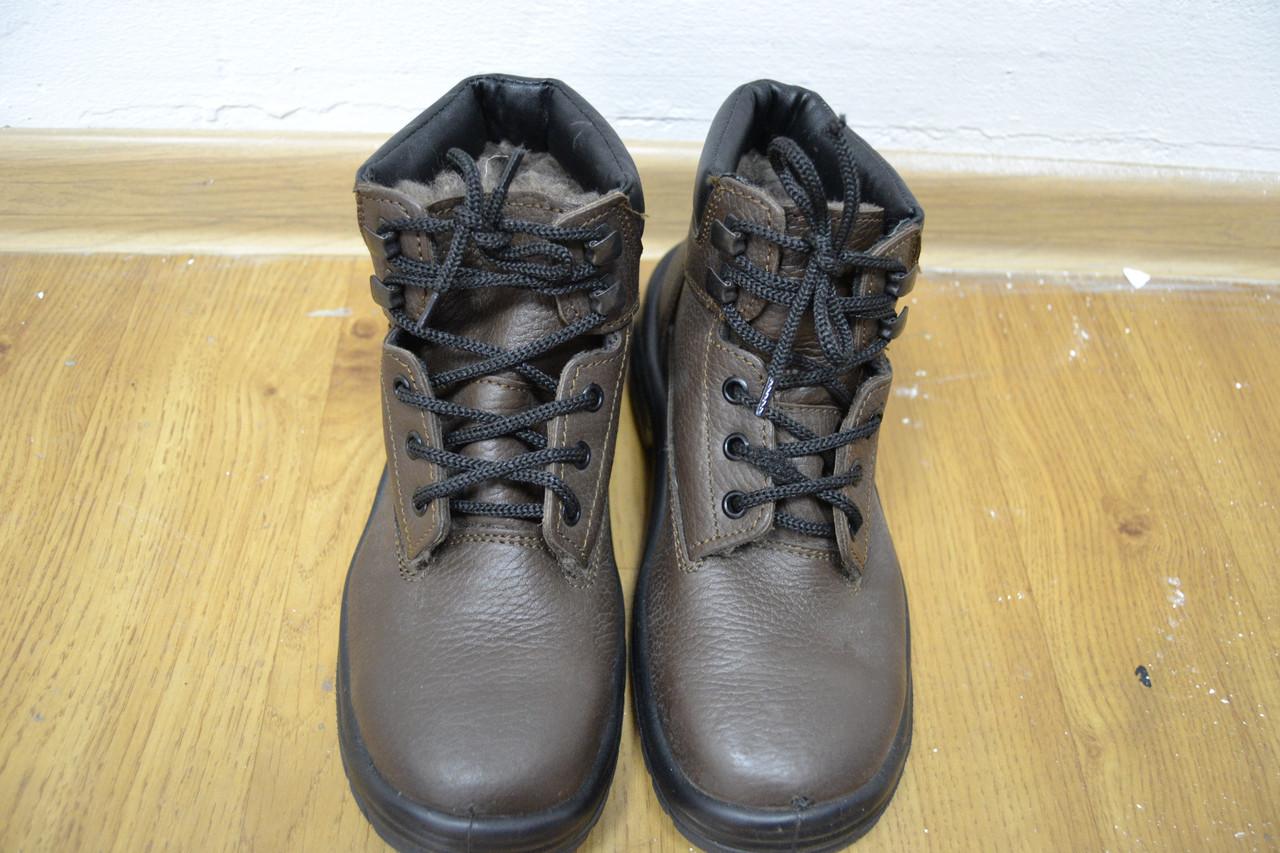Ботинки Zol зимние кожаные