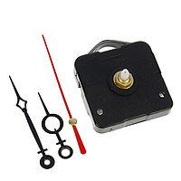 Набор: часовой механизм 3268 с подвесом, дискретный ход + комплект стрелок чёрные 48/69(1061)