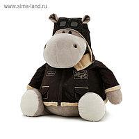 Мягкая игрушка «Бегемот Авиатор», 20 см