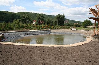 Гидроизоляция водоемов, прудов, оросительных систем