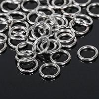 Кольцо соединительное 1,4*10мм СМ-984, цвет серебро