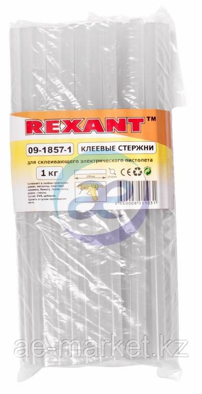 Клеевой стержень d=11. 3мм L=270мм Прозрачный t-85°C, вязкость 18. 000Pa. s, 1кг REXANT