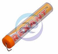 Припой с канифолью 10 гр. d=1. 0 мм (Sn60 Pb40 Flux 2. 2%) REXANT