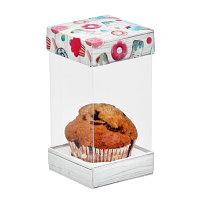 """Коробка для капкейка """"Вкусняшка"""", 7,7 х 15 х7,7 см"""