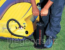 Ручной насос для накачивания матрасов, бассейнов, батутов и лодок, Intex 68615, фото 2