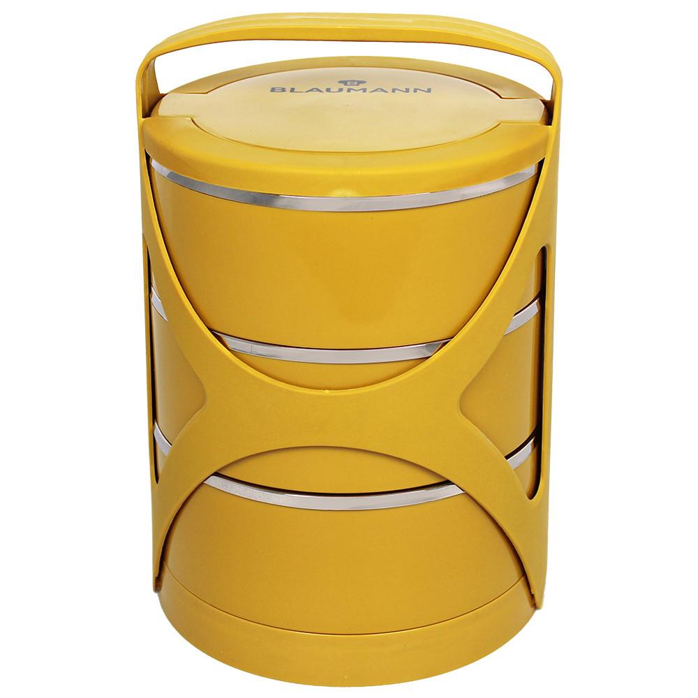Blaumann Lunchbox Трехуровневый 0,6л Lunchbox с ручкой (3пр.)