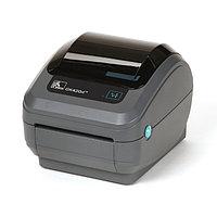 Принтер этикеток - Zebra GK420D (203 DPI, USB, ETHERNET, отделитель)