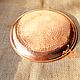 Медный поднос (диаметр - 28 см), фото 2