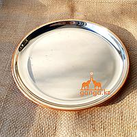 Медный поднос (диаметр - 28 см)