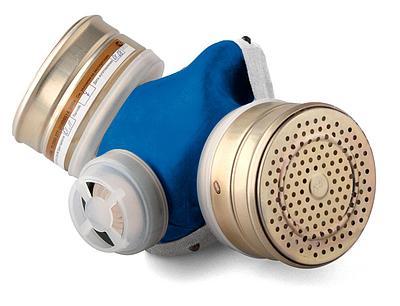 Полумаска фильтрующая (респиратор) РПГ-67, комплектуется фильтрующим патроном А1
