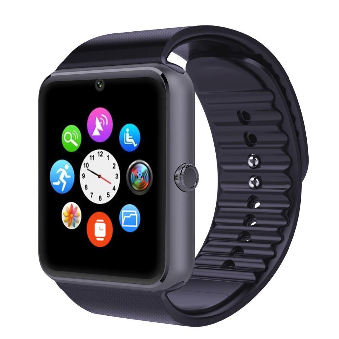 Сенсорные умные часы-телефон Smart-Watch GT08