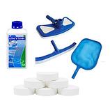 Химия и аксессуары для чистки бассейнов
