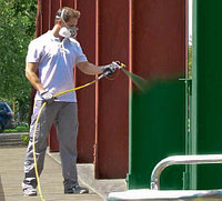 Покраска фасадов, металлоконструкций, коммерческих и промышленных объектов