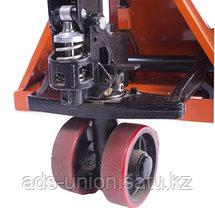 Тележка гидравлическая (рохля) с весами 2500 кг, фото 3