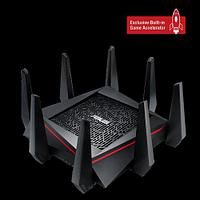 Маршрутизатор ASUS RT-AC5300 Tri-band Gigabit Router (4UTP 10/100/1000Mbps, 1WAN, 802.11a/b/g/n/ac)