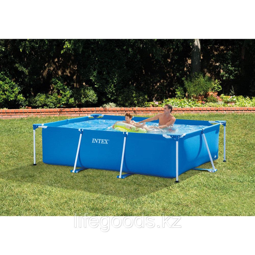 Каркасный бассейн для дачи прямоугольный 300х200х75 см, Intex 28272 - фото 2