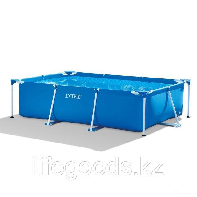Каркасный бассейн для дачи прямоугольный 300х200х75 см, Intex 28272 - фото 3
