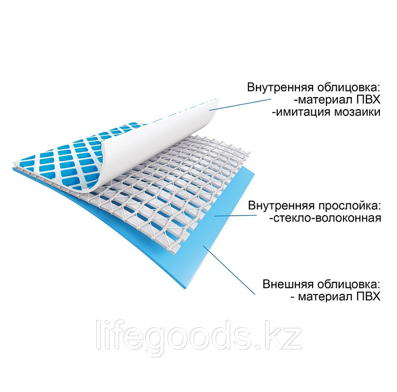 Каркасный бассейн для дачи прямоугольный 300х200х75 см, Intex 28272 - фото 6