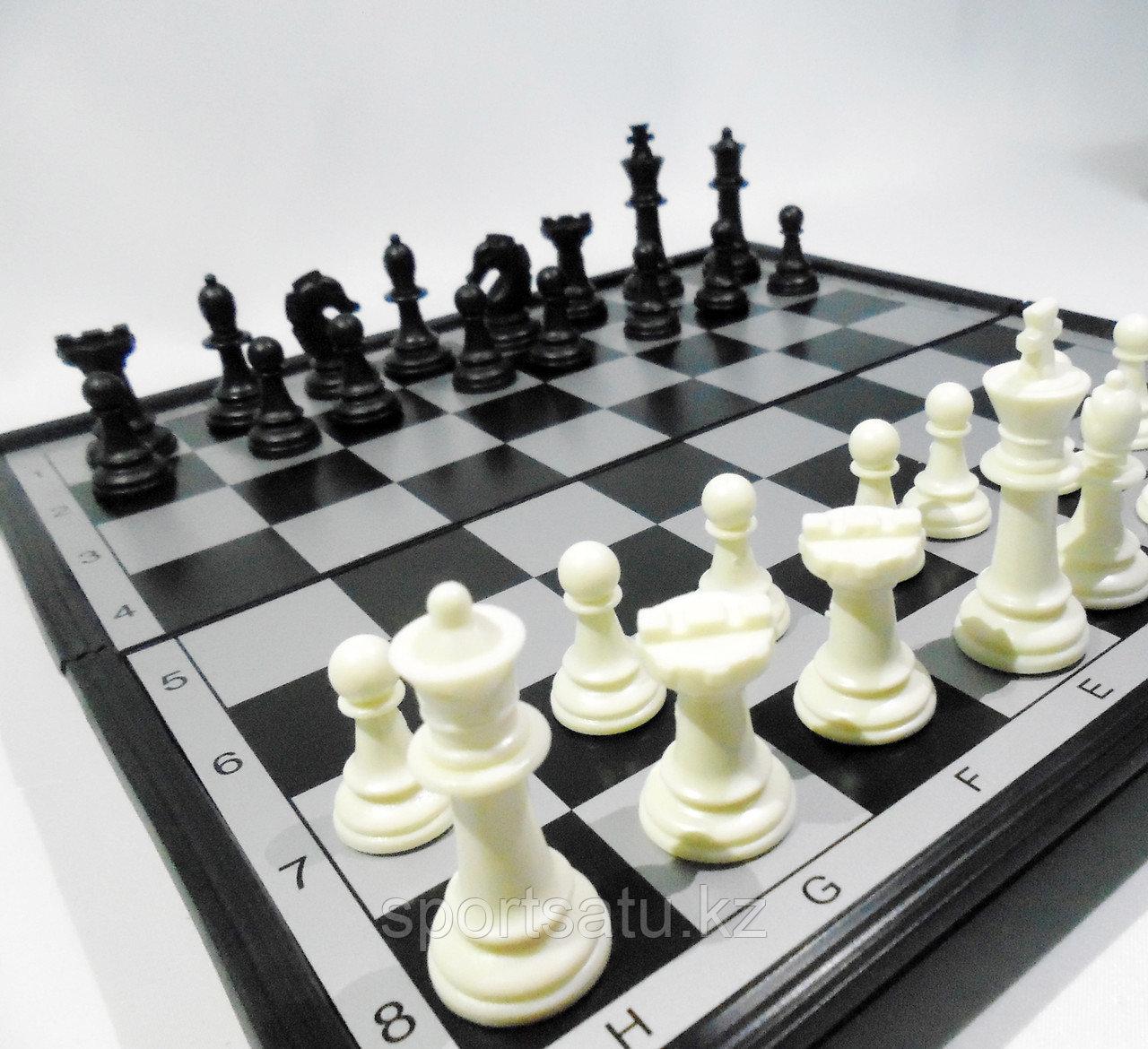 Магнитные шахматы  24см X 24см