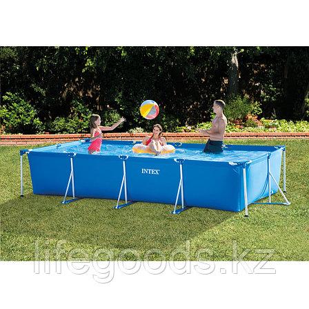 Каркасный бассейн Intex 28273 прямоугольный 450х220х84см, фото 2