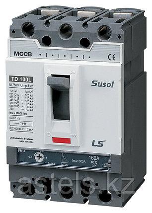 Автоматический выключатель TD100N FTU100 63A 3P EXP, фото 2