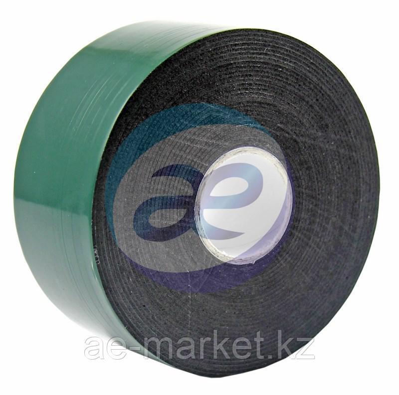 Двухсторонний скотч, зеленого цвета на черной основе, 40мм, 5метров REXANT