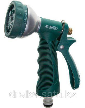 Пистолет распылитель для полива RACO 4255-55/354C-18, BEST VALUE, металл. корп., 6-позиционный