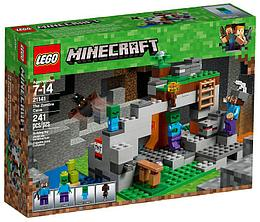 21141 Lego Minecraft Пещера Зомби, Лего Майнкрафт
