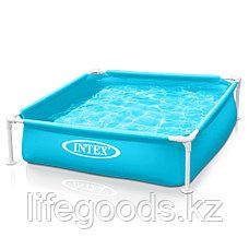 Детский каркасный бассейн 122x122x30 см, Intex 57173, фото 3