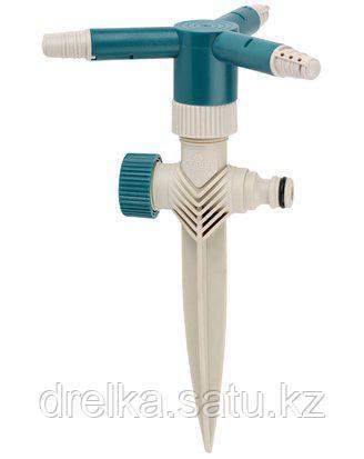 Распылитель для полива RACO 4260-55/665C, круговой, динамический, регулируемый, на пике, 3 сопла , фото 2