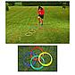 Тренировочные кольца для футбола 50см, фото 3
