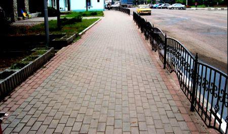 Брусчатка тротуарная плитка