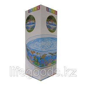 Детский бассейн с жесткой стенкой 244х46см, Intex 58472, фото 2