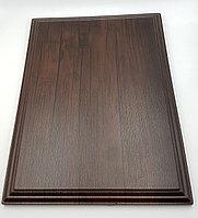 """Деревянная основа для плакетки А4 """"Тиковое дерево"""". Наградная доска, фото 1"""