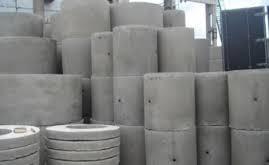 Железобетонные изделия для круглых колодцев водопровода и канализации