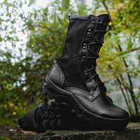 516 «BLACK SHOT»ботинки с высокими берцами