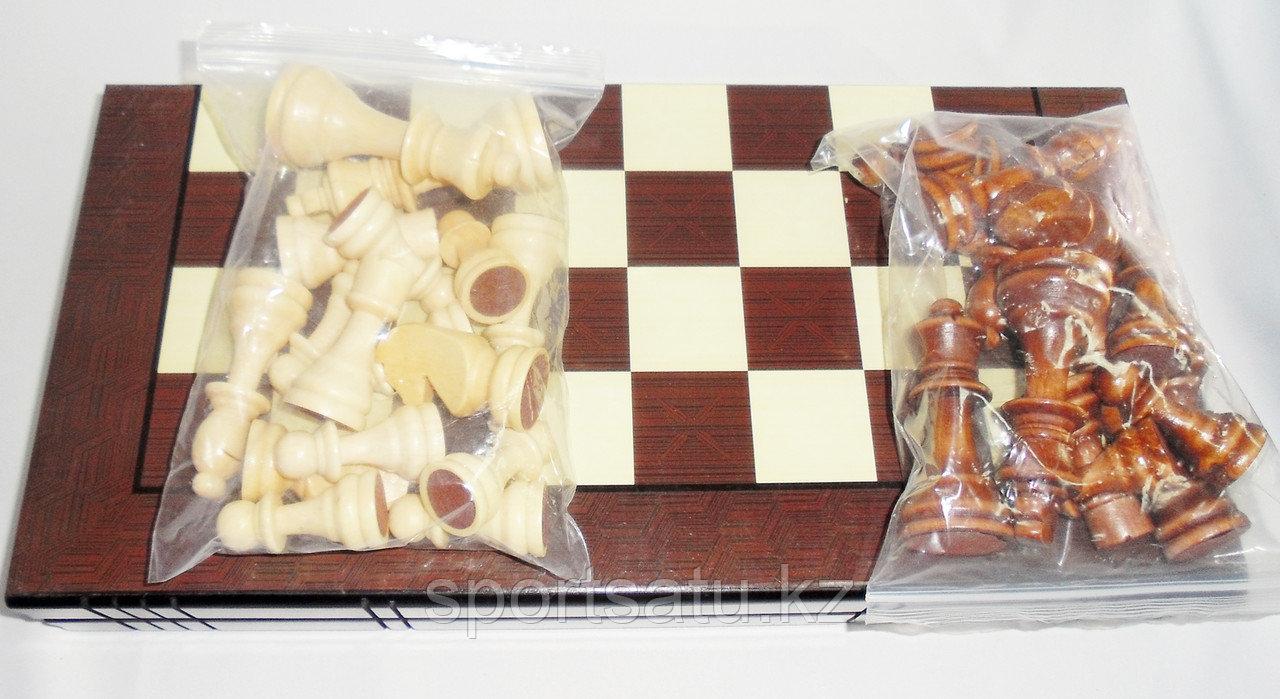 Шахматы 3в 1 390мм*390мм* 8