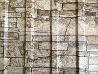 Профнастил рваный камень с15