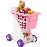 615344 Игрушка корзина для покупок, бело-розовая США