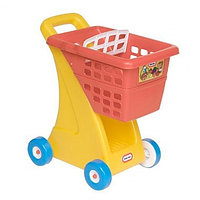 612428 Игрушка корзина для покупок, желто-красная США, фото 1