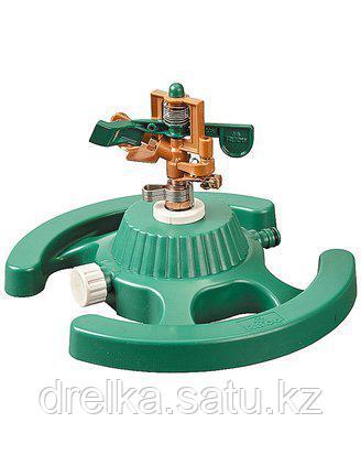 Распылитель для полива RACO 4260-55/708, ЭКСПЕРТ, импульсный, латунный на подставке, 490 кв.м