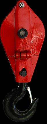 Блок монтажный г/п 2 тн (однорольный), фото 2