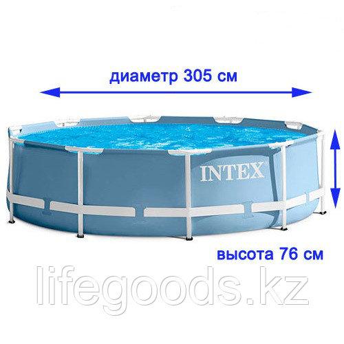 Бассейн каркасный круглый 305х76 см, Intex 28700/26700 - фото 3