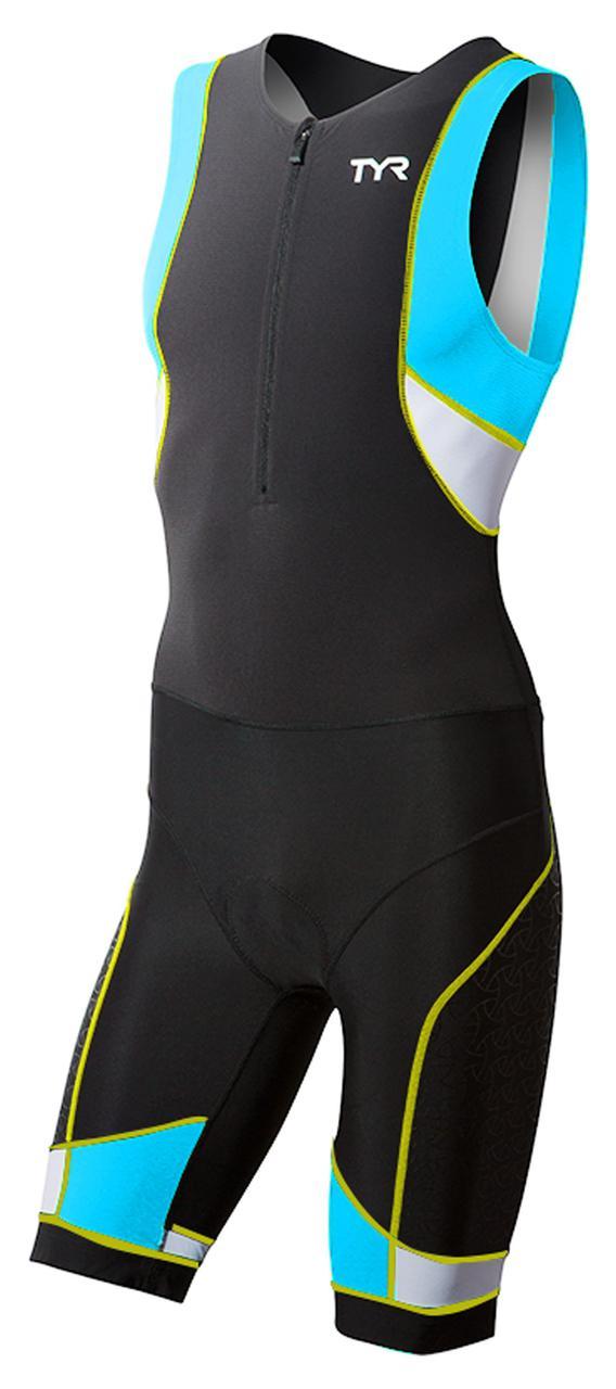 Стартовый костюм мужской TYR Competitor Front Zip Tri Suit