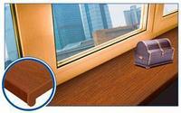 Подоконник ПВХ, золотой дуб 250мм