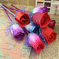 Ручка шариковая в виде розы